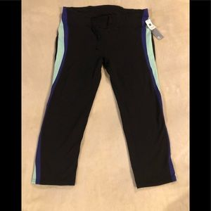 Gap Fit G Fast Capris Leggings Work Out Size L NWT